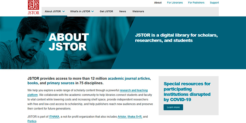 online library services jstor liberty