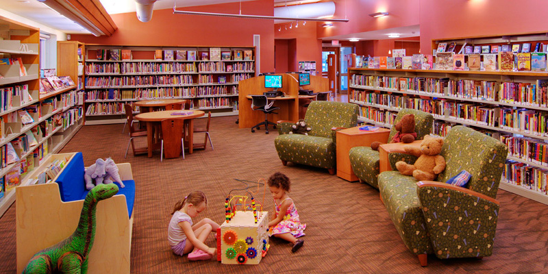 The Months of March Through April Are a Great Time to Visit the Public Library in Delaware