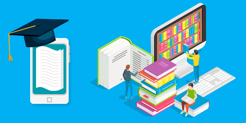 Online Applications and Library Services Are Used Today